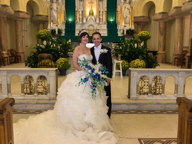 The wedding of Steven and Heather