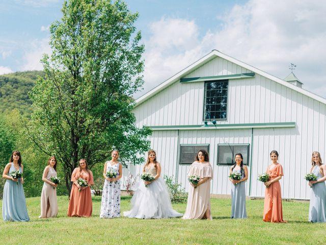 Gennaro and Alyssa's Wedding in Ticonderoga, New York 41