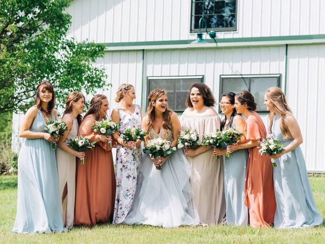 Gennaro and Alyssa's Wedding in Ticonderoga, New York 42