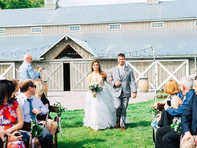 Gennaro and Alyssa's Wedding in Ticonderoga, New York 59