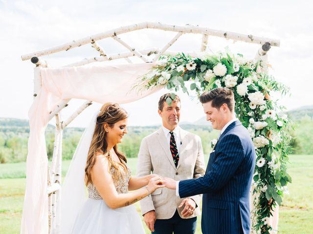 Gennaro and Alyssa's Wedding in Ticonderoga, New York 62