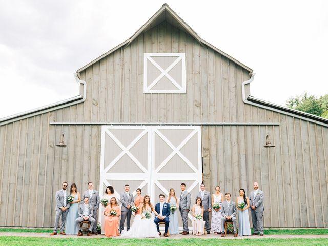 Gennaro and Alyssa's Wedding in Ticonderoga, New York 1
