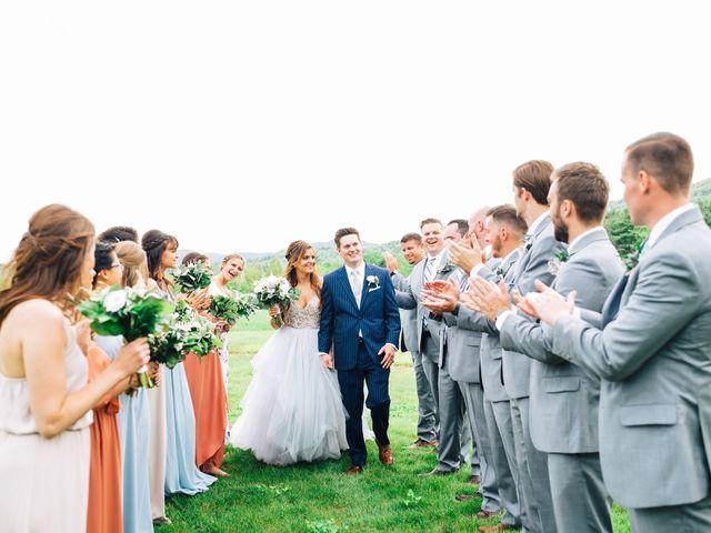 Gennaro and Alyssa's Wedding in Ticonderoga, New York 66