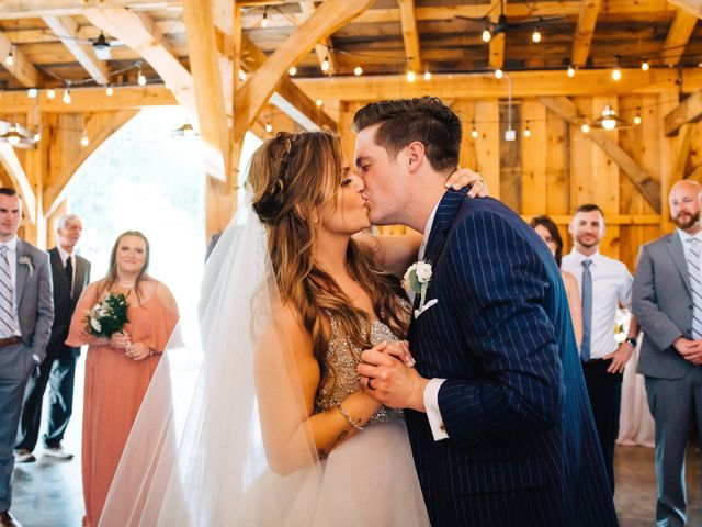 Gennaro and Alyssa's Wedding in Ticonderoga, New York 109