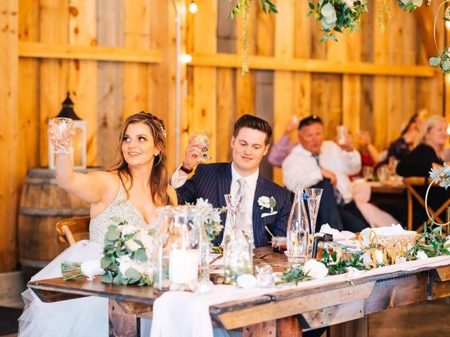 Gennaro and Alyssa's Wedding in Ticonderoga, New York 110