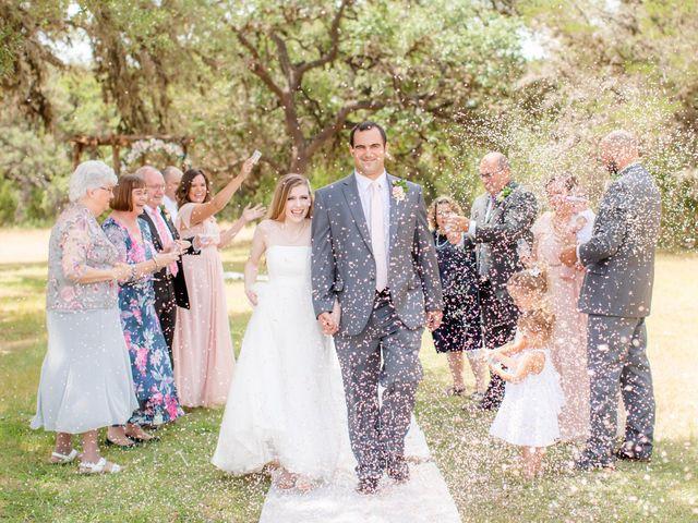 Alex and Mackenzie's Wedding in Vanderpool, Texas 1