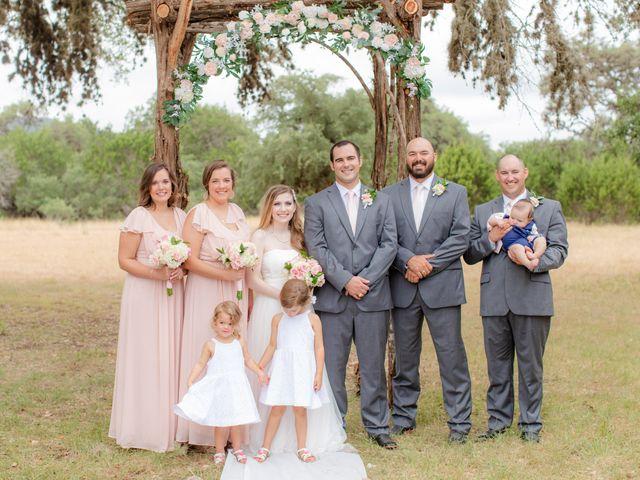 Alex and Mackenzie's Wedding in Vanderpool, Texas 26