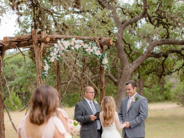 Alex and Mackenzie's Wedding in Vanderpool, Texas 28