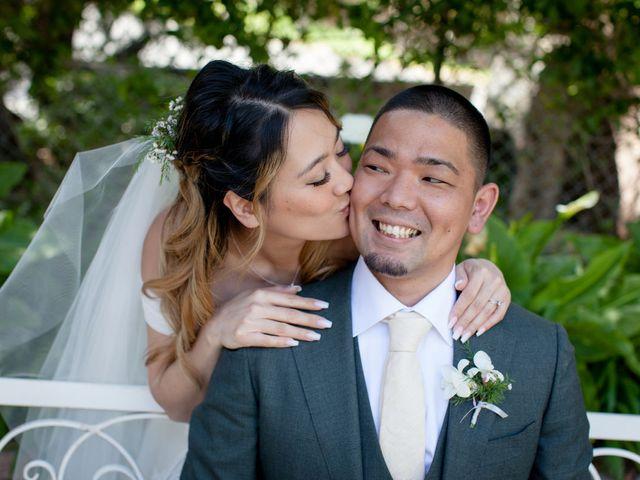 The wedding of Nobu and Yuri