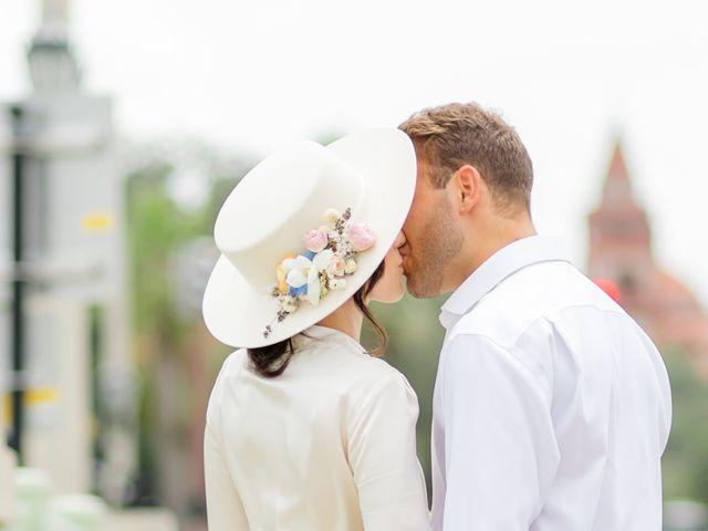 Alex Gilges and Rachel Fenton's Wedding in Saint Augustine, Florida 3