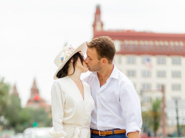 Alex Gilges and Rachel Fenton's Wedding in Saint Augustine, Florida 4