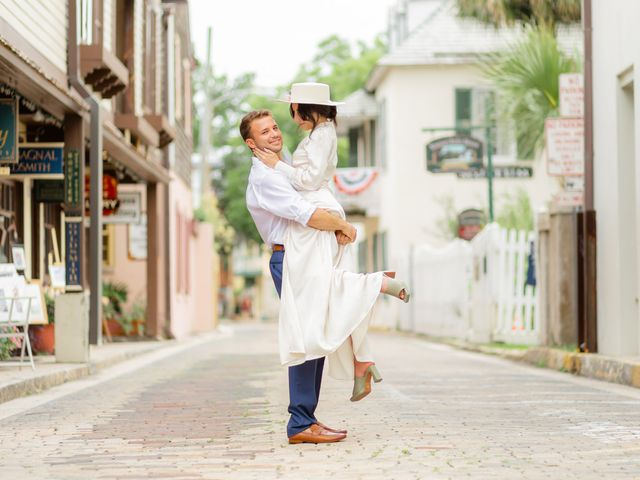 Alex Gilges and Rachel Fenton's Wedding in Saint Augustine, Florida 1