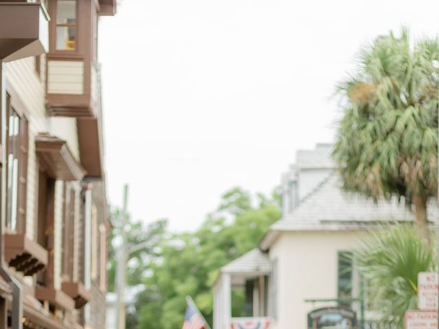 Alex Gilges and Rachel Fenton's Wedding in Saint Augustine, Florida 13