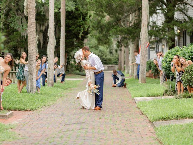 Alex Gilges and Rachel Fenton's Wedding in Saint Augustine, Florida 21