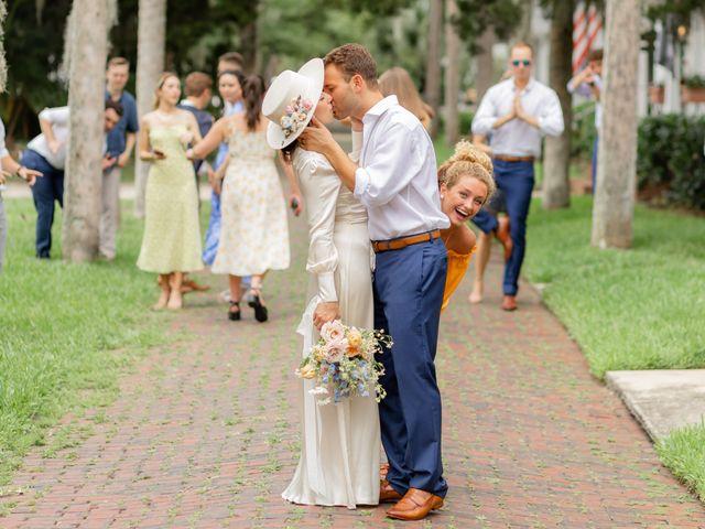 Alex Gilges and Rachel Fenton's Wedding in Saint Augustine, Florida 22
