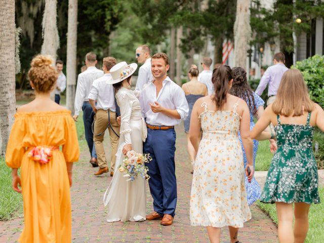 Alex Gilges and Rachel Fenton's Wedding in Saint Augustine, Florida 23
