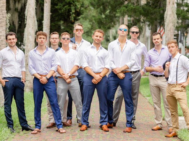Alex Gilges and Rachel Fenton's Wedding in Saint Augustine, Florida 27