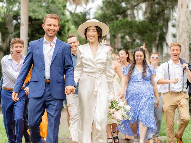 Alex Gilges and Rachel Fenton's Wedding in Saint Augustine, Florida 30