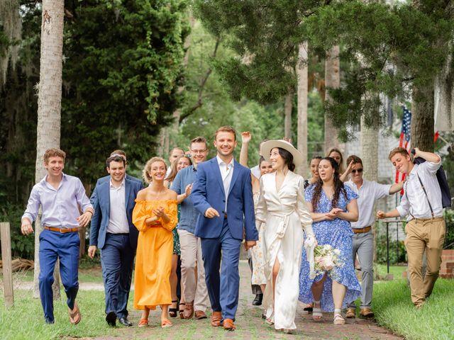 Alex Gilges and Rachel Fenton's Wedding in Saint Augustine, Florida 33