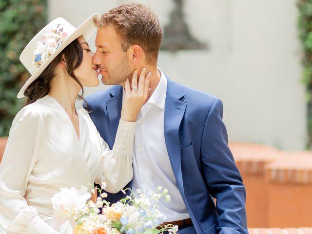 The wedding of Rachel Fenton and Alex Gilges