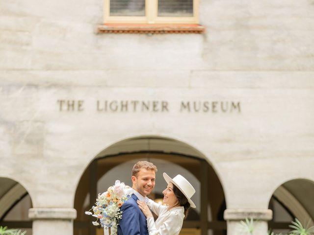 Alex Gilges and Rachel Fenton's Wedding in Saint Augustine, Florida 51