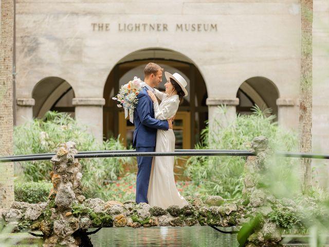 Alex Gilges and Rachel Fenton's Wedding in Saint Augustine, Florida 52