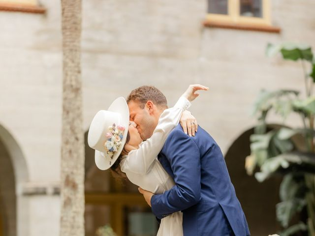 Alex Gilges and Rachel Fenton's Wedding in Saint Augustine, Florida 55