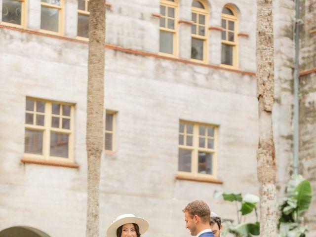 Alex Gilges and Rachel Fenton's Wedding in Saint Augustine, Florida 57
