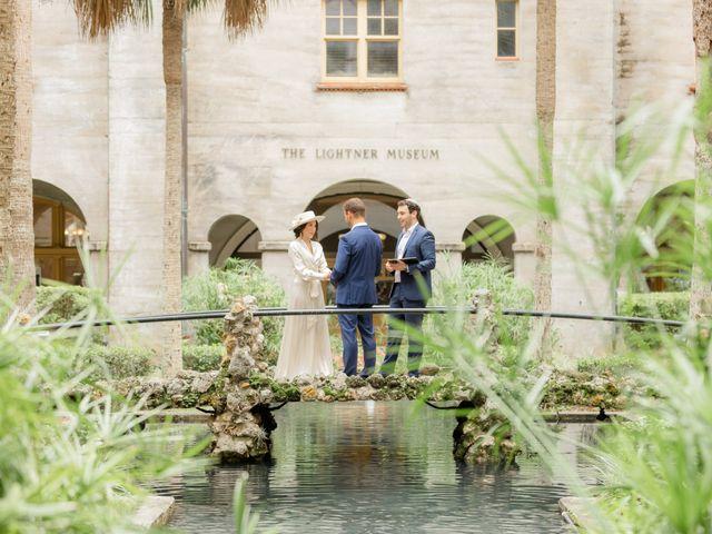 Alex Gilges and Rachel Fenton's Wedding in Saint Augustine, Florida 64