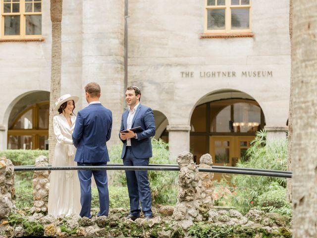 Alex Gilges and Rachel Fenton's Wedding in Saint Augustine, Florida 66