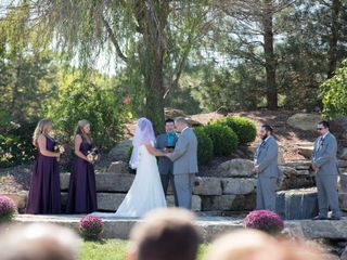 The wedding of Rachel and Steve