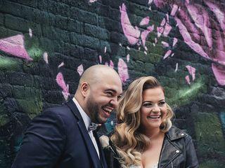 The wedding of Lauren and Ronald 2