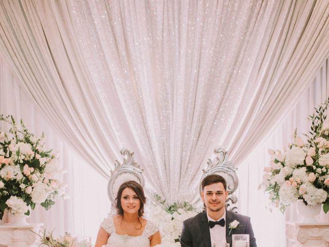 Greg and Julie's Wedding in Detroit, Michigan 12