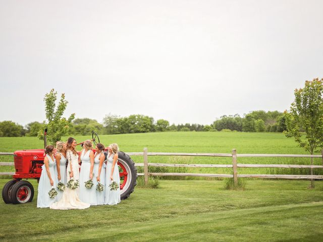 Dustin and Bailey's Wedding in Oconomowoc, Wisconsin 7