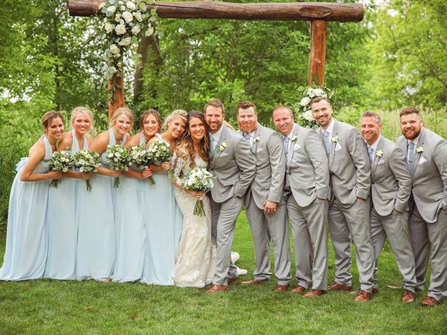 Dustin and Bailey's Wedding in Oconomowoc, Wisconsin 8