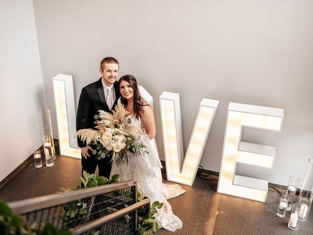 The wedding of Kylee and Hagen