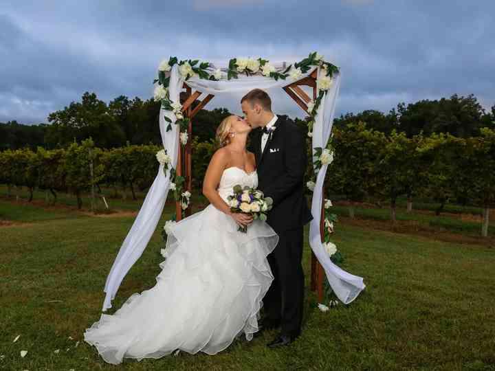 The wedding of Chloe and Joel