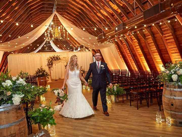 The wedding of Christine and Joseph