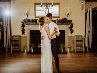 The wedding of Ben and Lillian