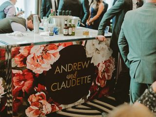 The wedding of Claudette and Andrew 2