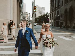 The wedding of Claudette and Andrew