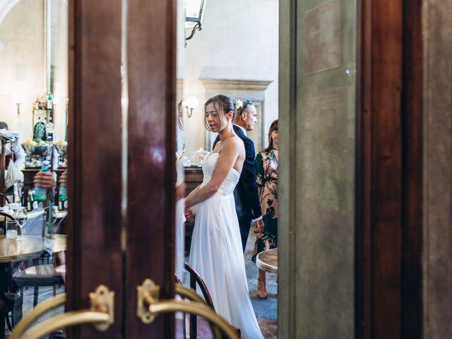 Mario and Silvia's Wedding in Milan, Italy 35