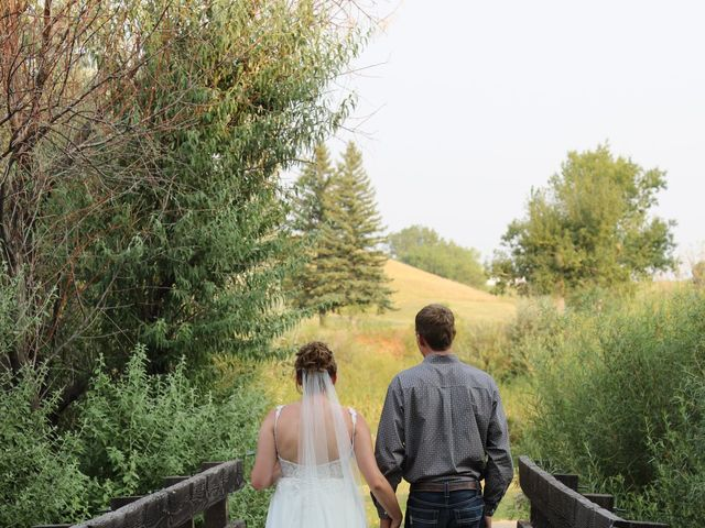 Katie and Micah's Wedding in Sundance, Wyoming 7