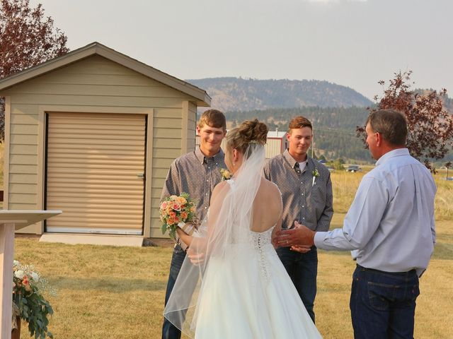 Katie and Micah's Wedding in Sundance, Wyoming 13