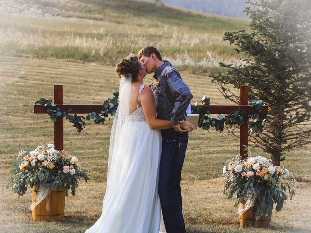 Katie and Micah's Wedding in Sundance, Wyoming 14