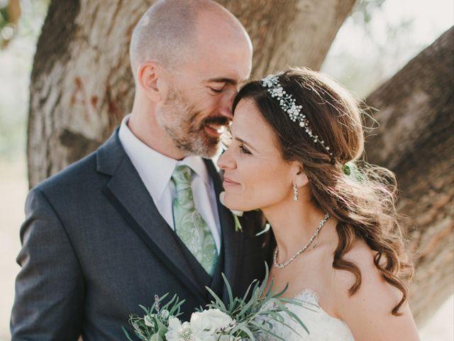 The wedding of Mark and Brenda