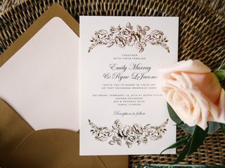 Emily and Ryne's Wedding in Tampa, Florida 3