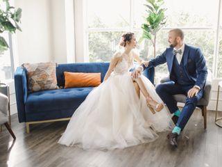 The wedding of Khanh and Brett