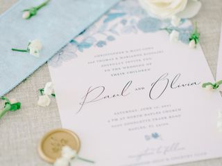 The wedding of Olivia and Paul 1