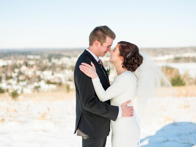The wedding of Skyler and Kelsey